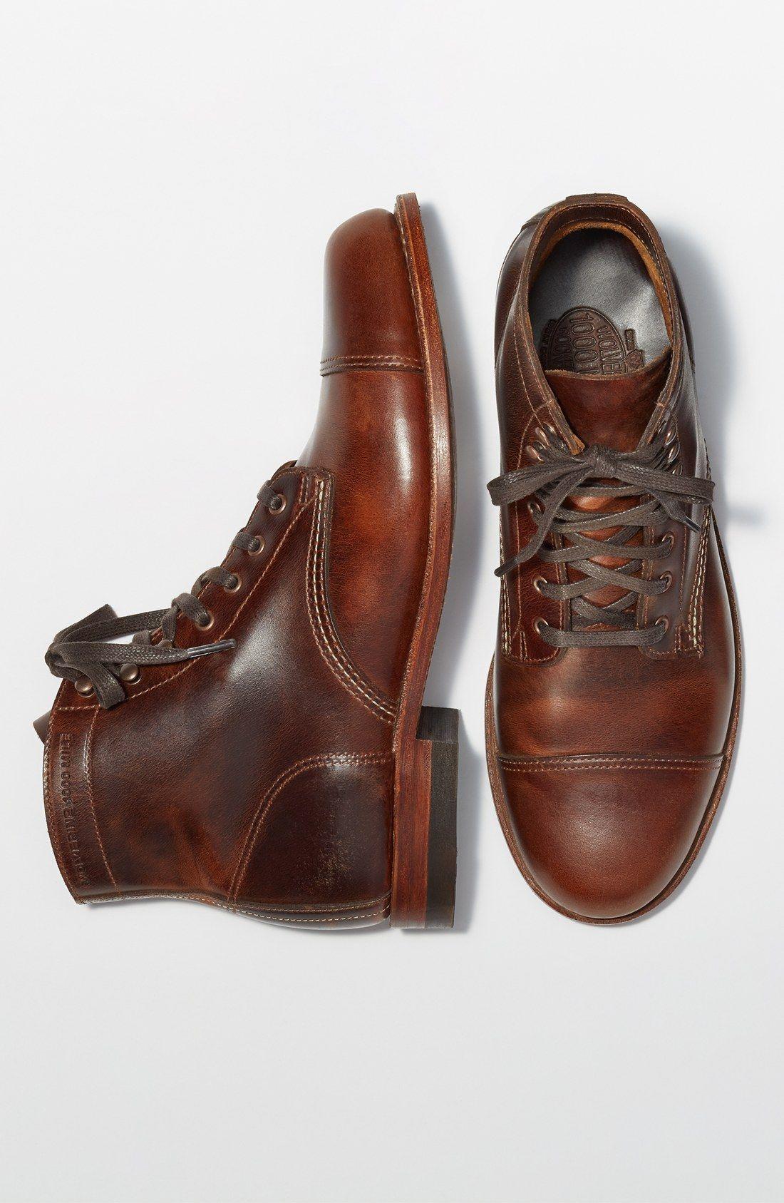 31c435bcd8b Wolverine '1000 Mile - McClean' Leather Cap Toe Boot | men's fashion ...