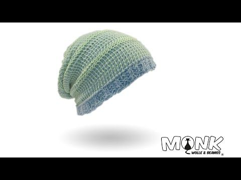 Mütze Häkeln Mustermix Beanie Tunesisch Häkeln Teil 1 Youtube