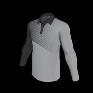 Custom Made Men S Hockey Long Sleeve Polo Shirts 002 Online