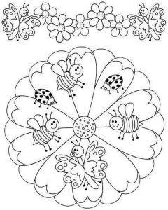 Mandala Boyama Kitabı Pdf 3 Mandala Ilkokul Disegni Di Mandala