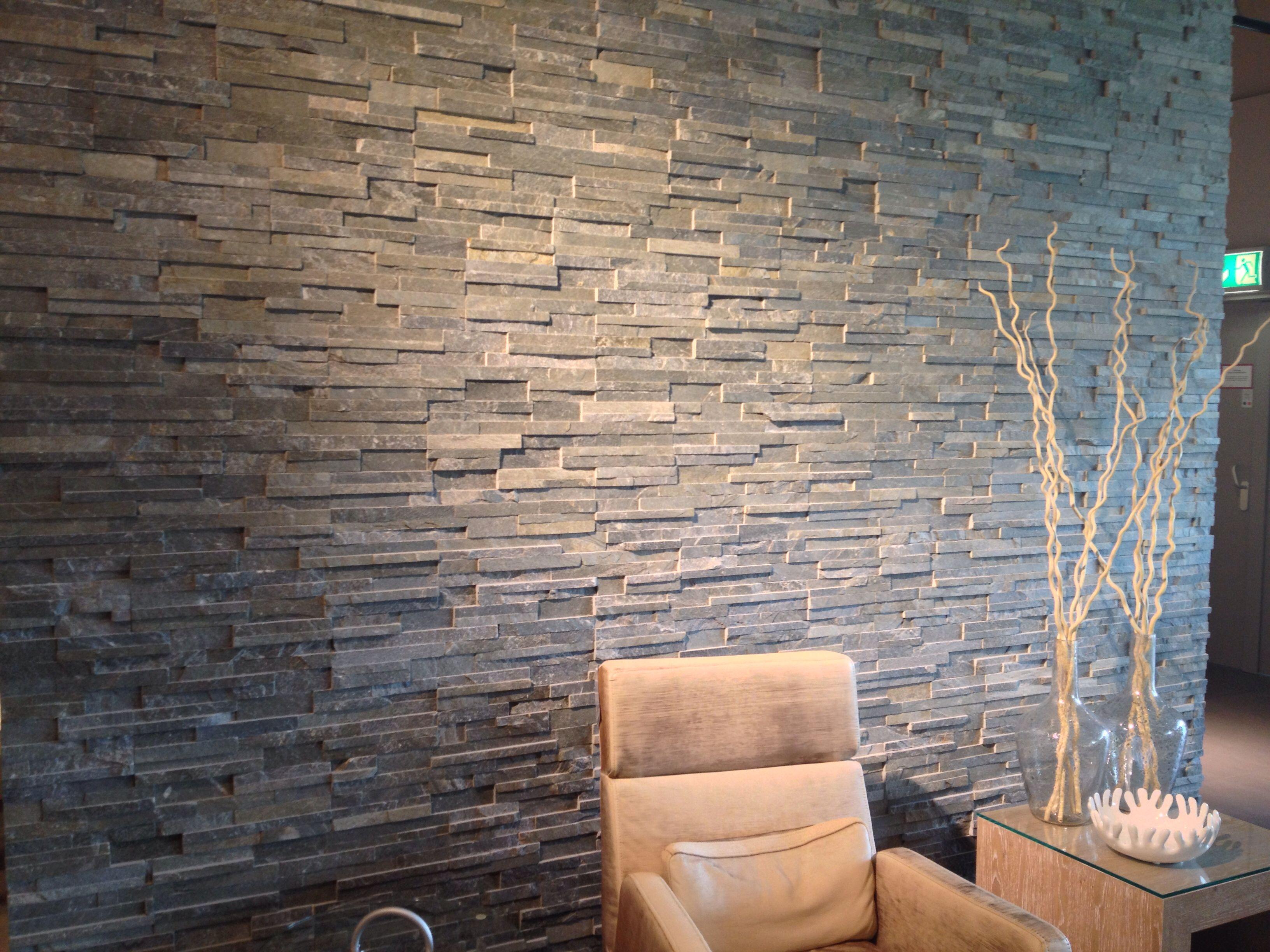 Steenstrip fa ade pinterest woonaccessoires muur en vintage - Decoratie hoofdslaapkamer ...