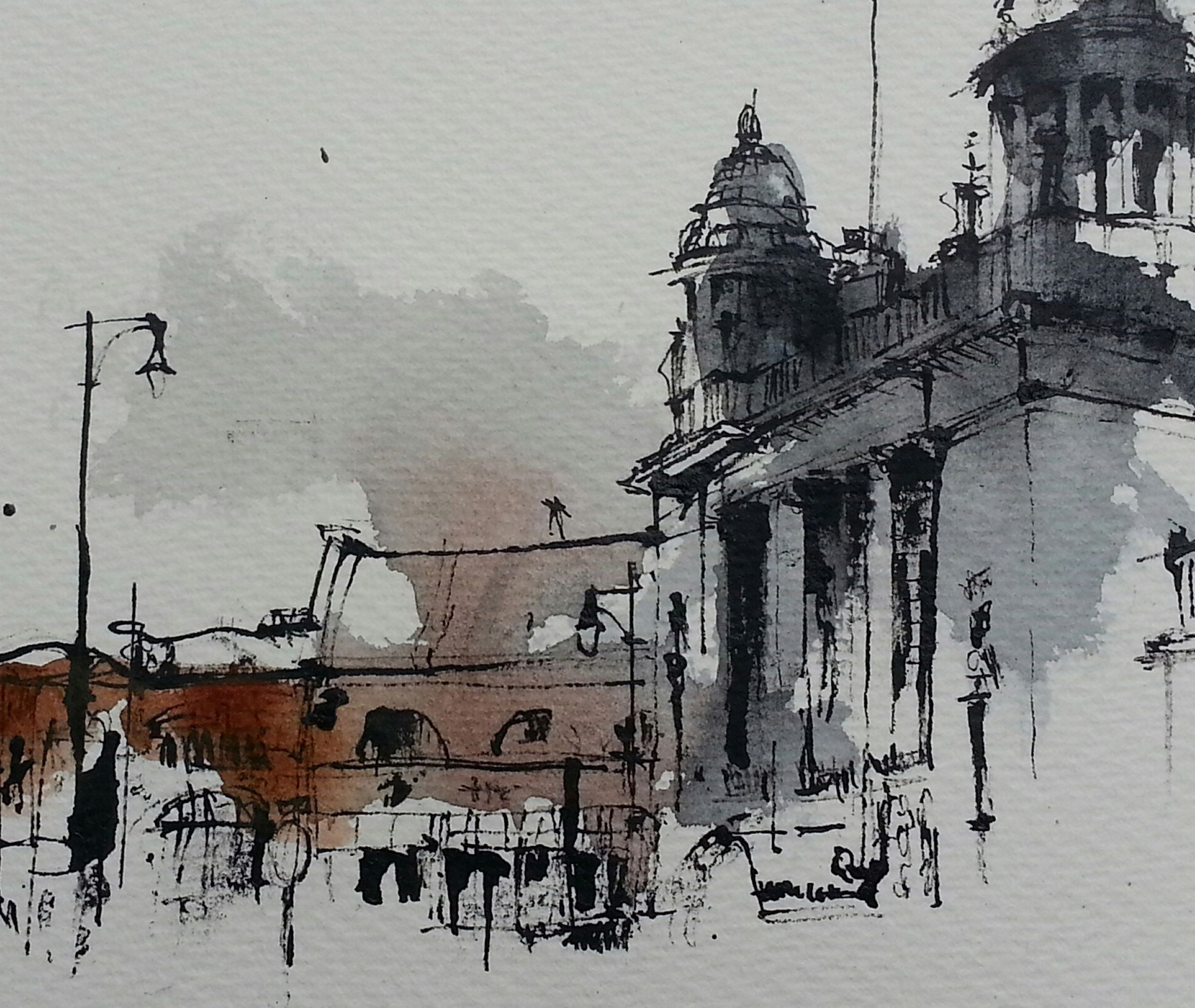St Martins Leicester 2017 Emma Fitzpatrick Watercolor