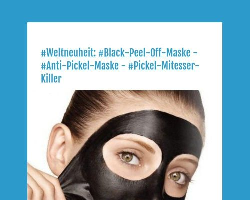 die besten 25 anti pickel maske ideen auf pinterest anti pickel masken gegen pickel und. Black Bedroom Furniture Sets. Home Design Ideas