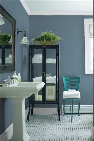saved color selections   benjamin moore   bathroom wall