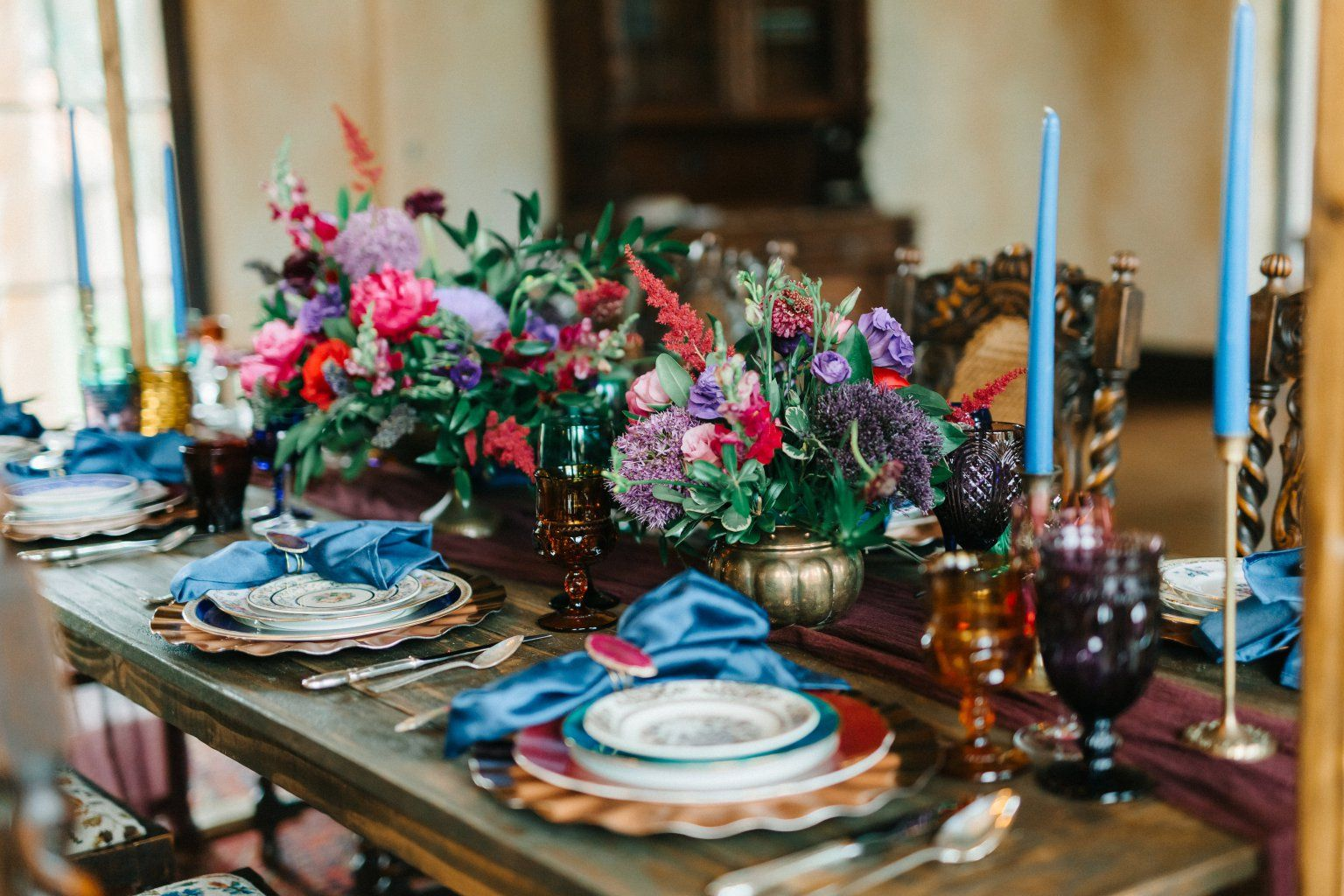Ipw Reception Corporate Event Photographyorlando Wedding: Jewel Tone Wedding Inspiration