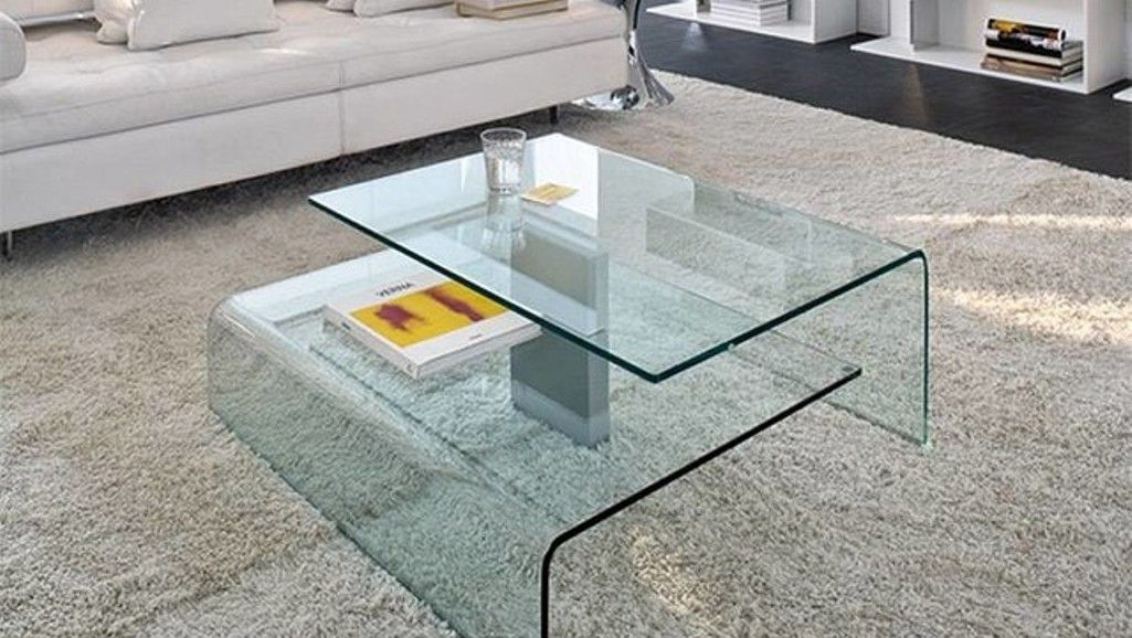 Two Stories Glass Coffee Table Www Rilane Com Coffee Table