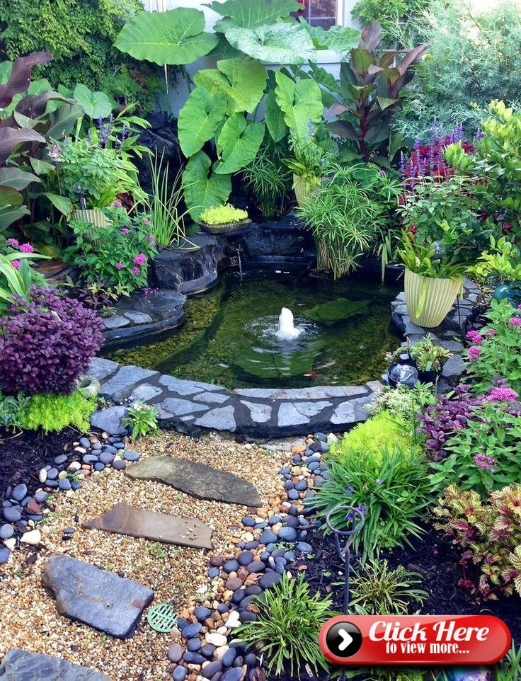 15 Awe-Inspiring Garden Ponds That You Can Make By ...
