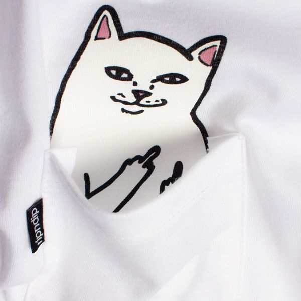 Lord Nermal Pocket Tee White Bordado