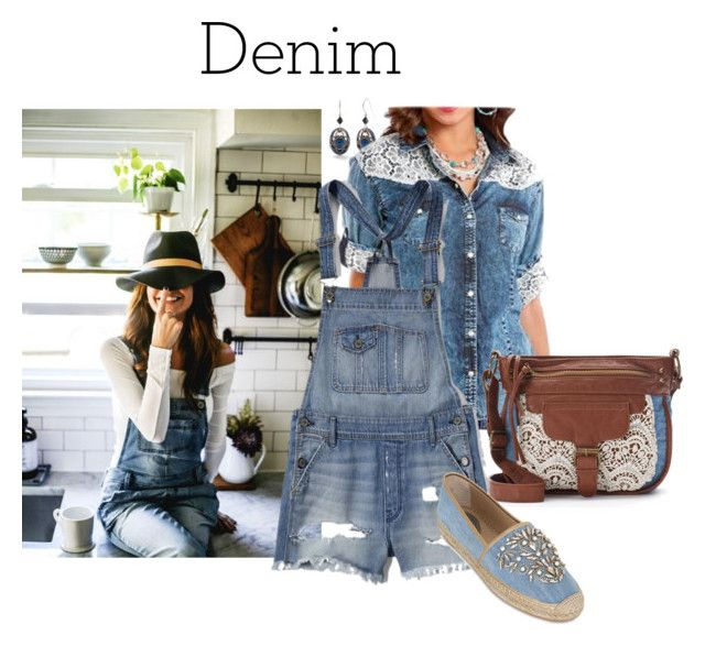 """""""Denim Breeches"""" by joybug9 ❤ liked on Polyvore featuring Silver Forest, Panhandle Slim, Mudd, Abercrombie & Fitch, René Caovilla and Denimondenim"""
