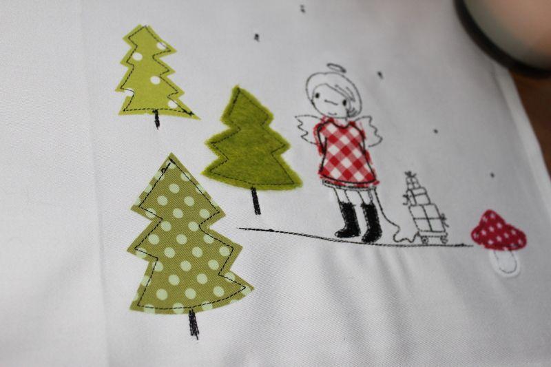 Weihnachten Nähmalen