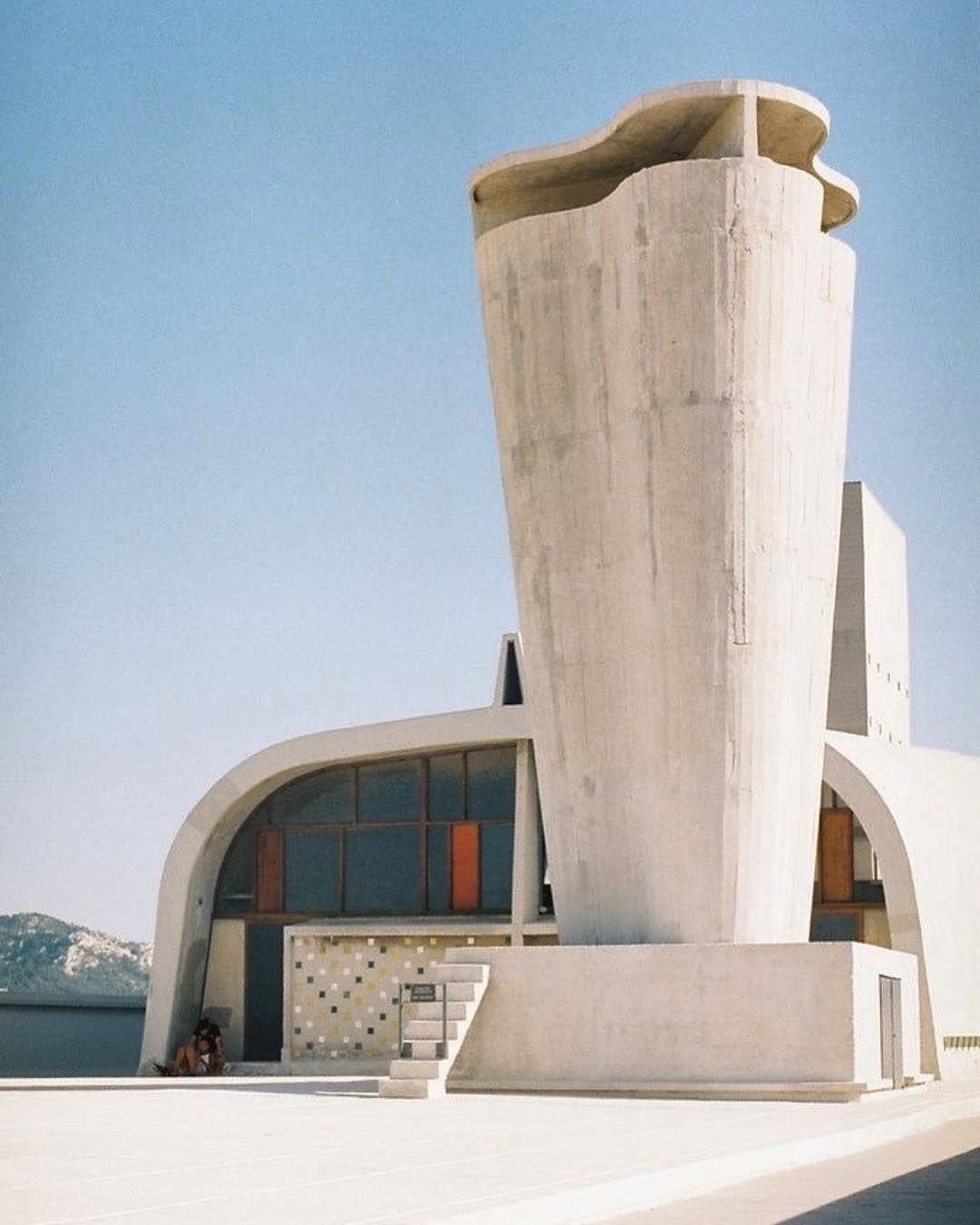 Le Corbusier Unite D Habitation le corbusier, unité d' habitation, marseille, france, 1947