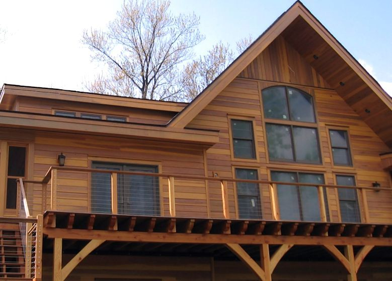 Sap B Grade Redwood Siding Pre Finished With Redwood Tinted Stain Wood Siding Redwood Lumber Wood Siding House