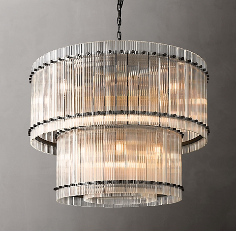 San Marco Collection Rh In 2020 Round Chandelier Modern Ceiling Light Chandelier