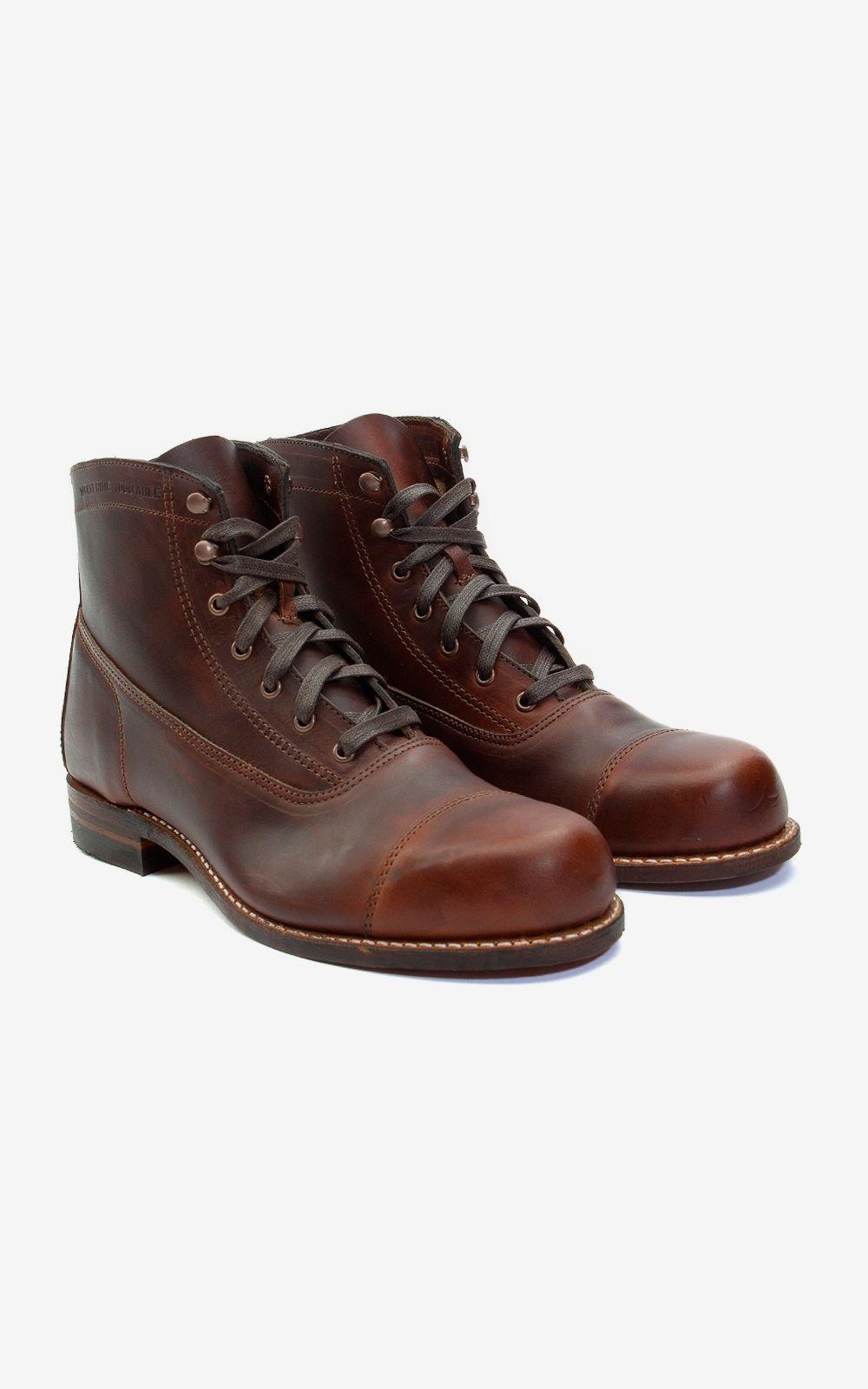 5a475af305e Wolverine, 1000, Mile, Boot, USA, Leather, Heritage, Vintage | The ...