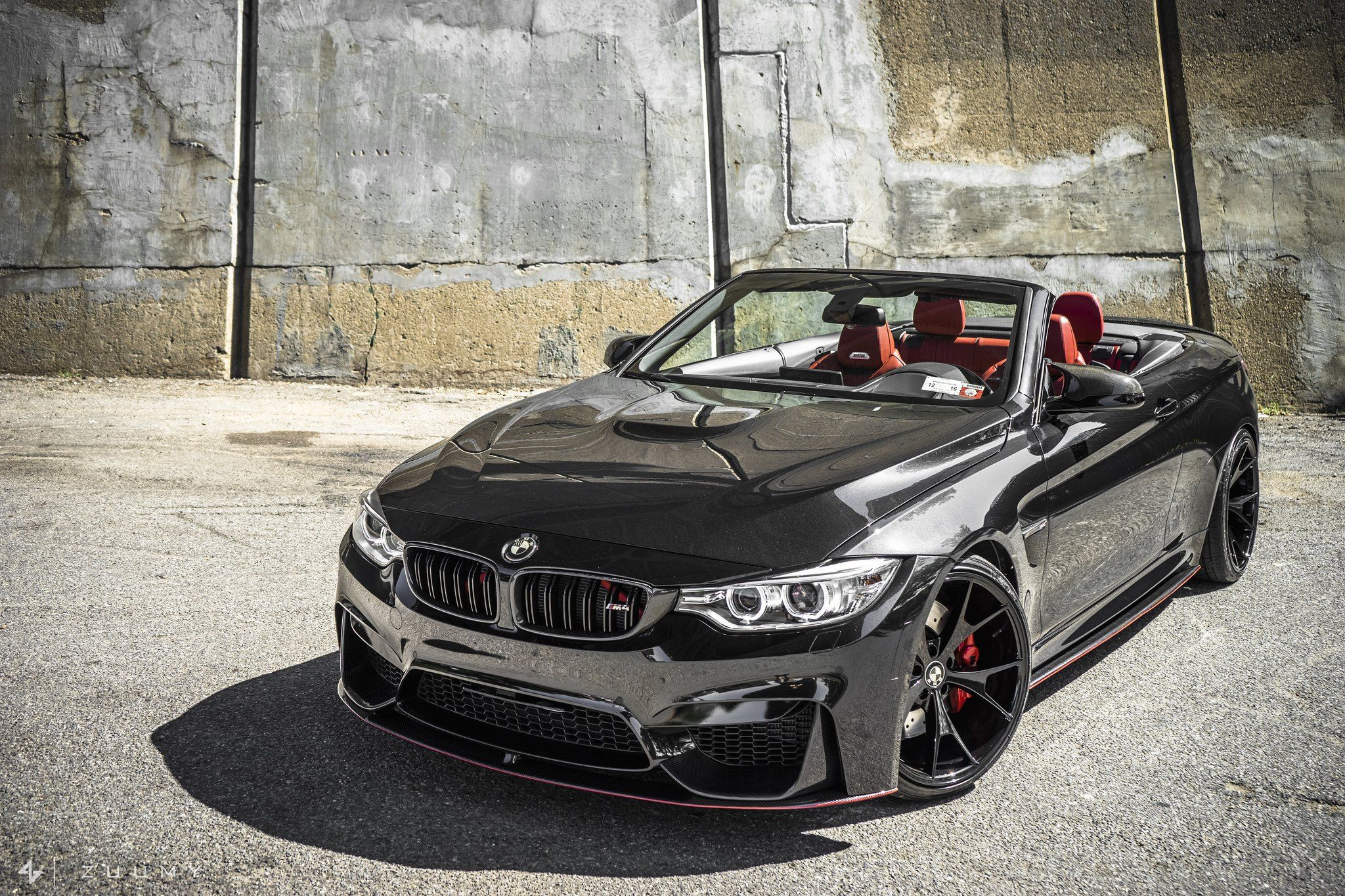 Bmw M4 Convertible On Stylish Csm5 Rims By Concept One Bmw Convertible Bmw M4 Bmw