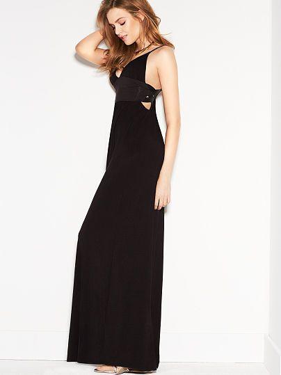 Cut-out Bra Top Dress