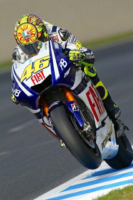 Valentino Rossi FIAT Yamaha