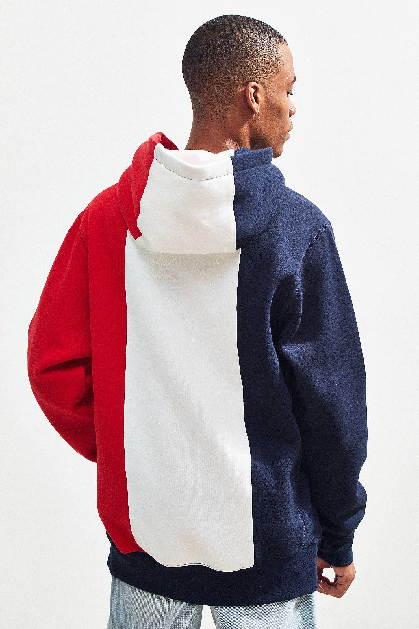 9e8430dcf38 40s   Shorties Colorblock Hoodie Sweatshirt in 2019