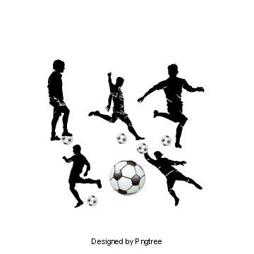 Football Player Silhouette Soccer Player Silhouette Figures Football Png Transparent Clipart Image And Psd File For Free Download Soccer Players Football Players Football Background