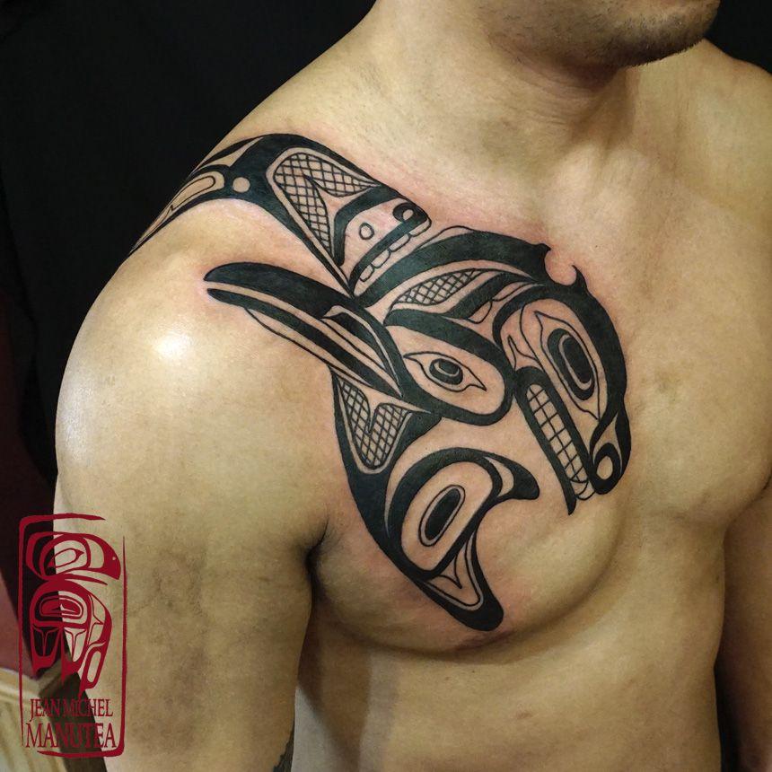 Image Result For Haida Orca Tattoo Polynesian Tattoo Tattoos Haida Tattoo