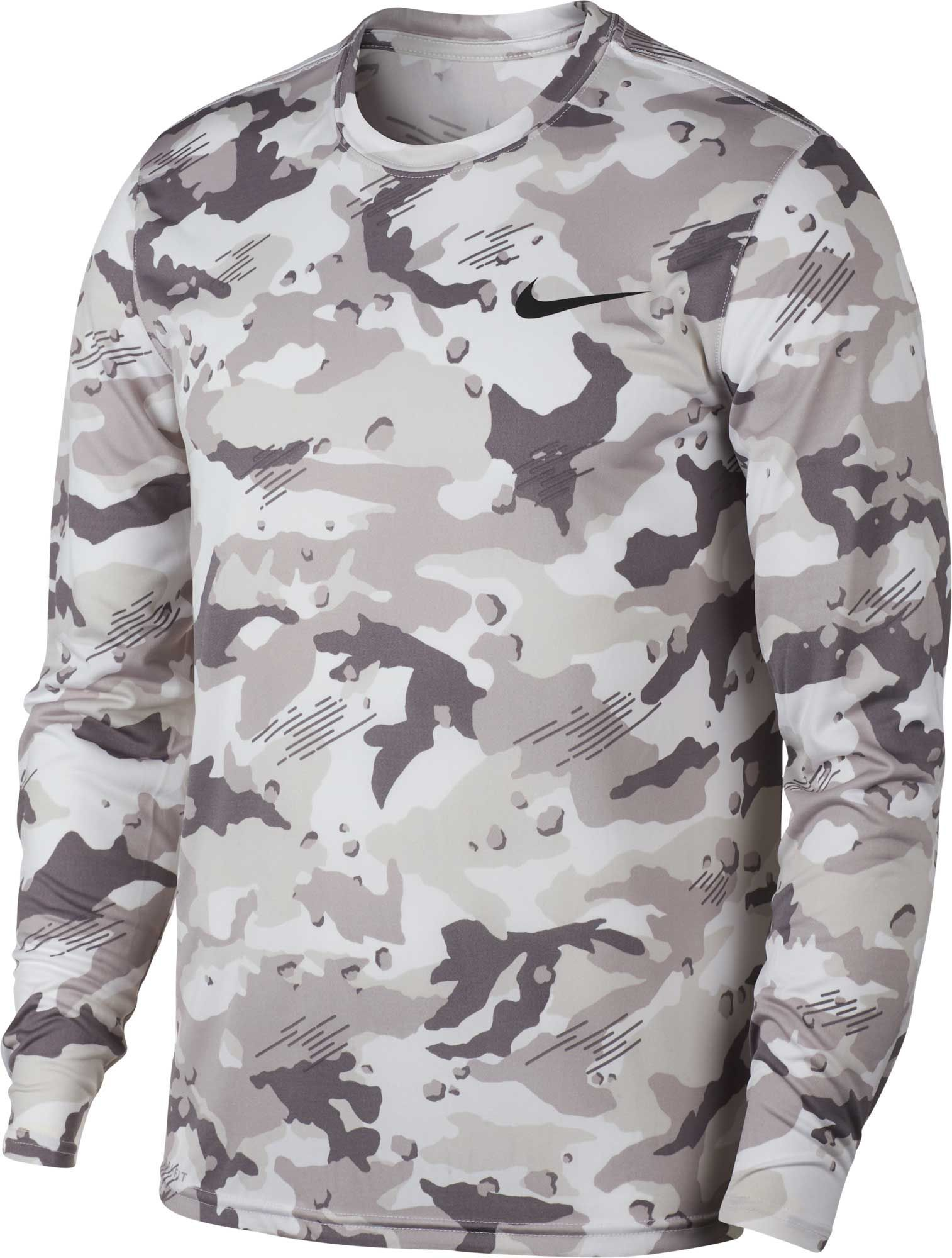 b926c7d56d206d Nike Men's Dry Legend Camo Long Sleeve Tee | Products | Nike men ...