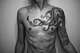 Kraken Tattoo Recherche Google Chest Tattoos Octopus Tattoos