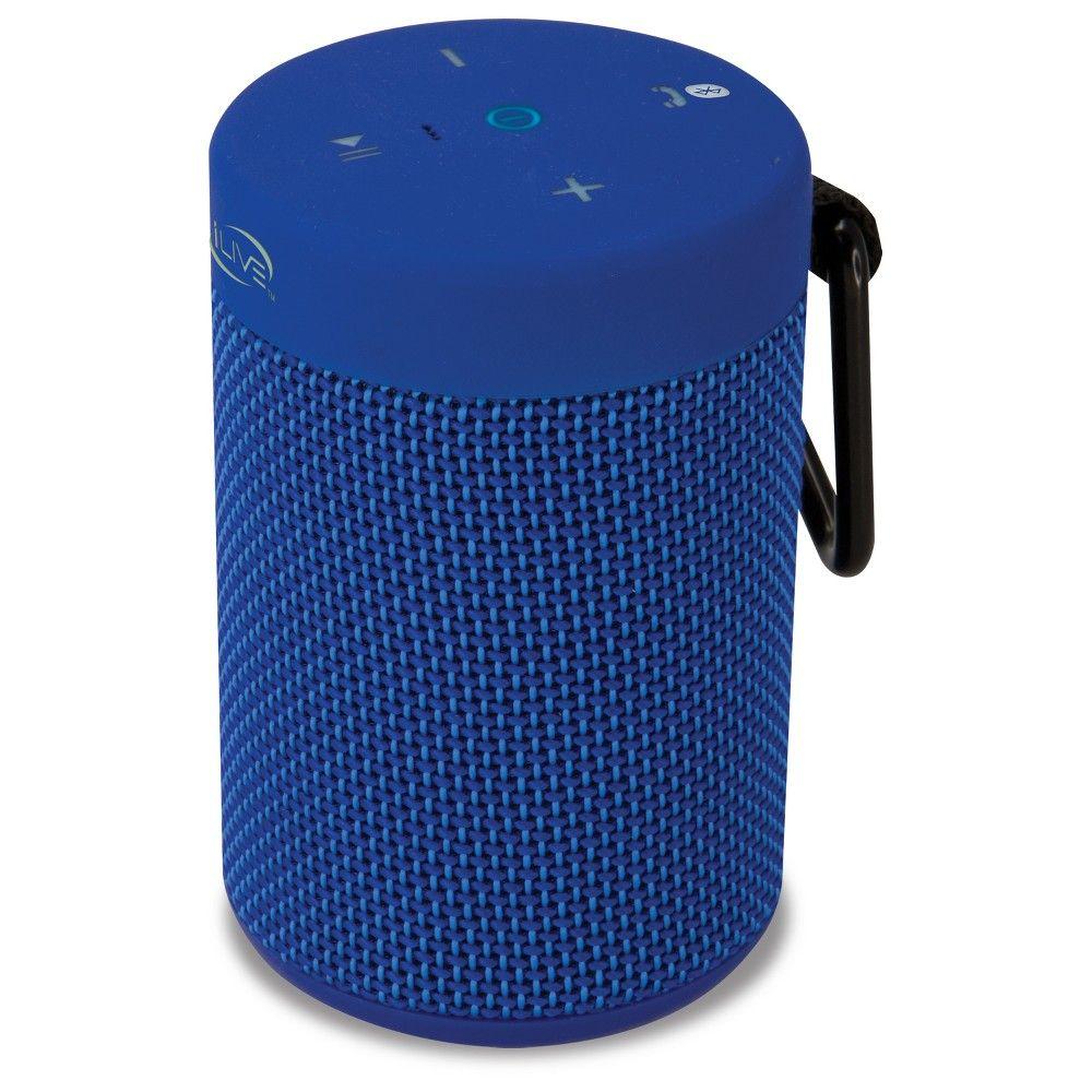 Ilive Audio Waterproof Shockproof Bluetooth Speaker With