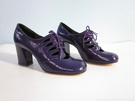 purple patent leather yes please.
