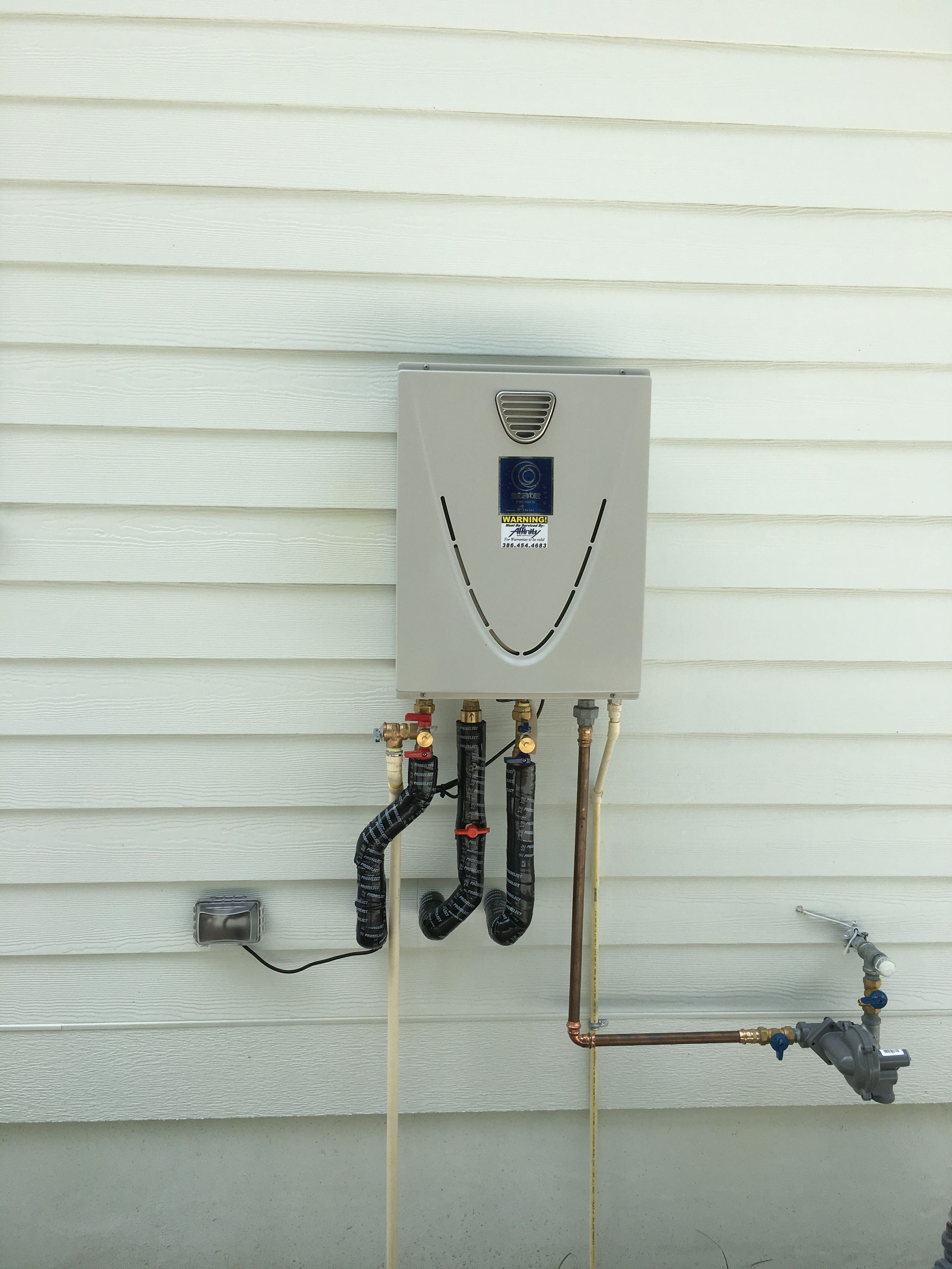 State Tankless Water Heater With Dedicated 3rd Line Recirculation
