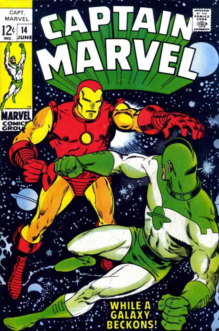 captain marvel (1968) issue #14 - read captain marvel (1968