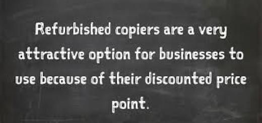 If you're starting a business or upgrading your office equipment you may be in need of a copy machine. Finding the best copier isn't as easy as you may think.  However, while you may know the main features you want - paper capacity, copies per minute, color copies, etc. - do you know how to get the best deal? Read on to learn how much money you could save by purchasing a refurbished copier. http://ctcopiers.blogspot.in/2016/06/call-847-398-5212-how-much-money-can-i.html