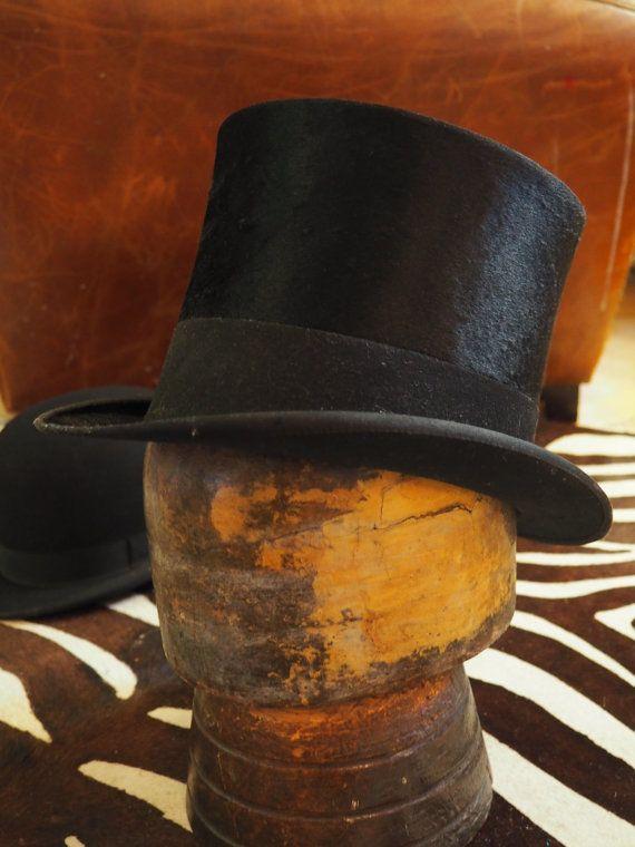 1900s Top Hat Imperial Court Hatmaker JTA-Hof-Hutfabrikant (Johann ... 6388f224583