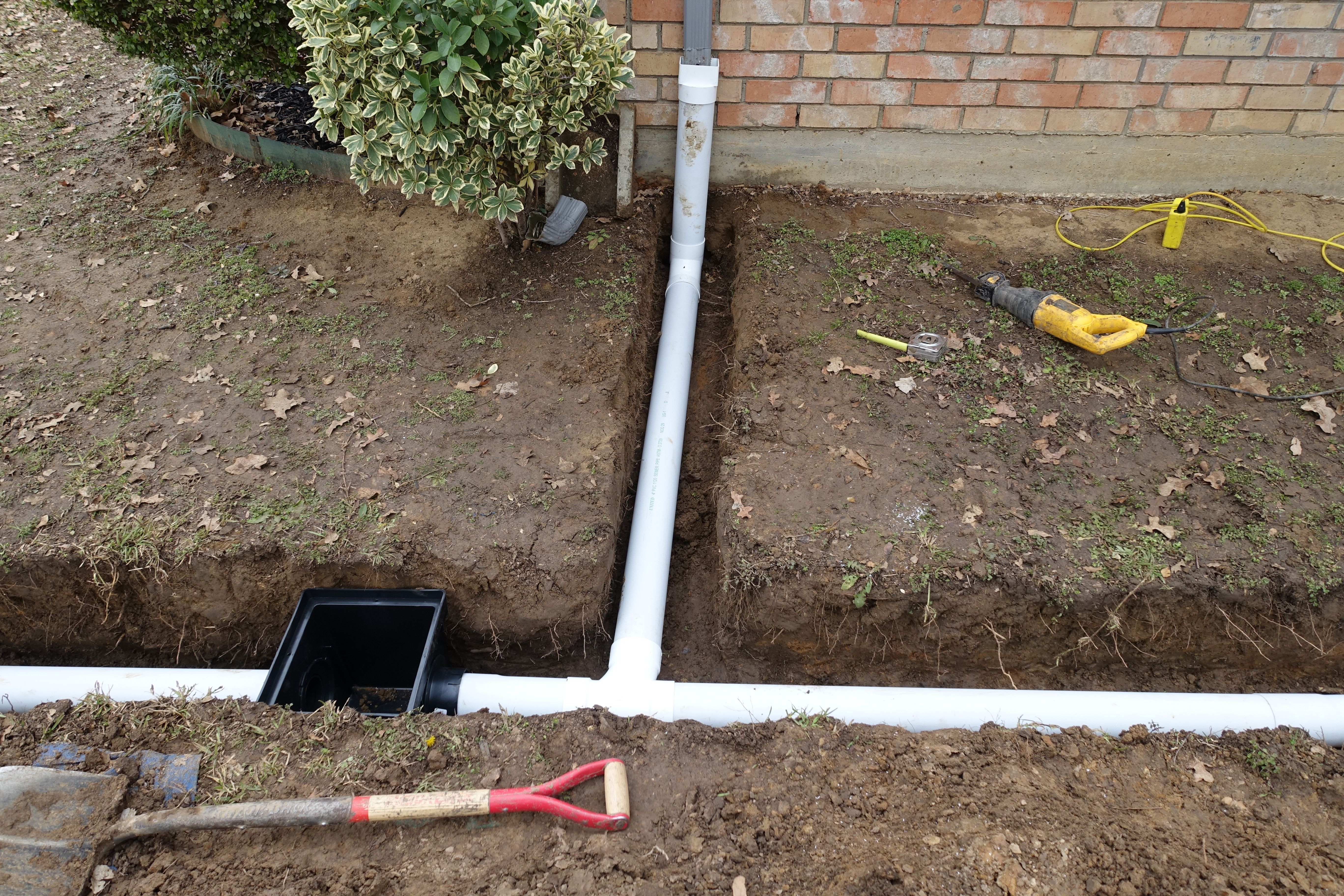 Inspiration How To Install A French Drain For Your Home ...