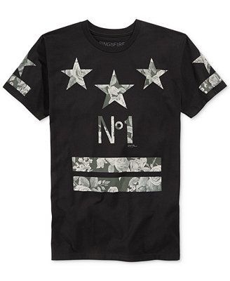 Ring of Fire Star Floral T-Shirt - that should be mine!  80f9565cb1f