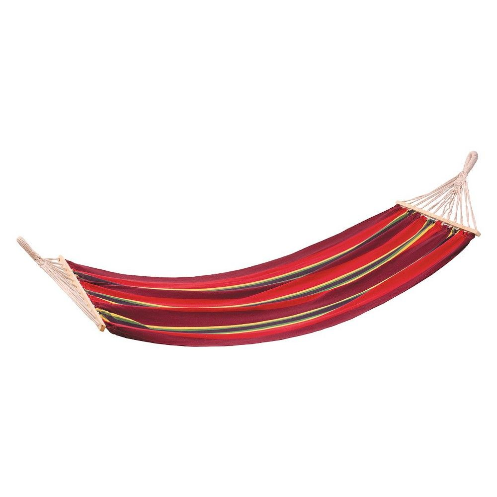 Stansport bahamas cotton hammock burgandy cotton and products