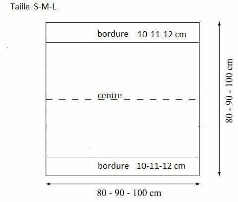 Gilet Carré Magique 9 Pelotes De 50gr Et 90 M à Utiliser