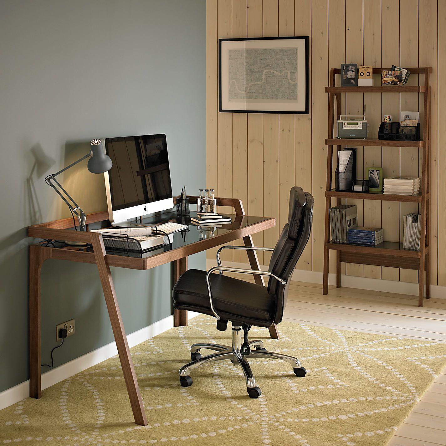 John Lewis & Partners Gazelle Desk, Walnut   Office   Pinterest ...