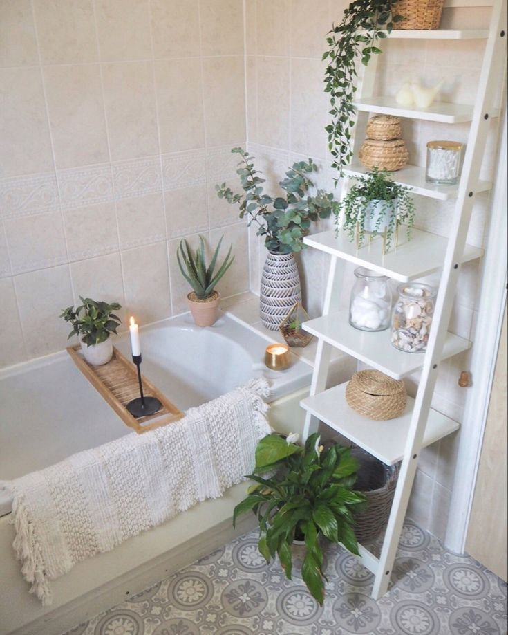 Quick & simple bathroom makeover – Using only accessories