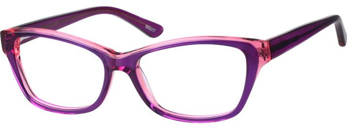 83849c2bb8c Purple Acetate Full-Rim Frame with Spring Hinges 665017