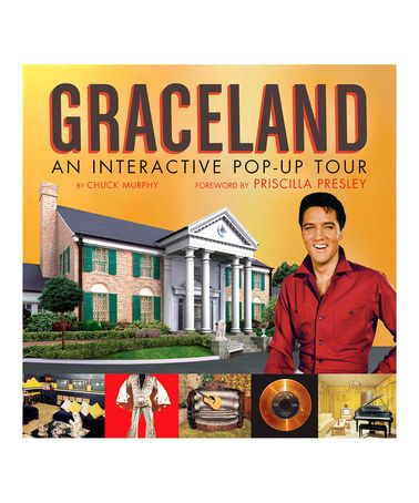 Take a look at this Graceland: An Interactive Pop-Up Tour Hardcover by Random House on #zulily today!