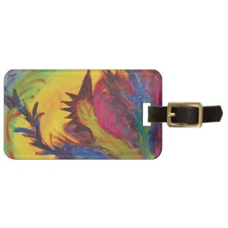 Fire Chicken Luggage Tag!