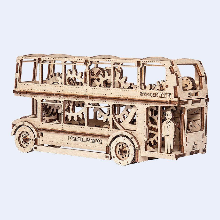 WOODEN CITY | Wooden Mechanical Models | Oyuncak | London