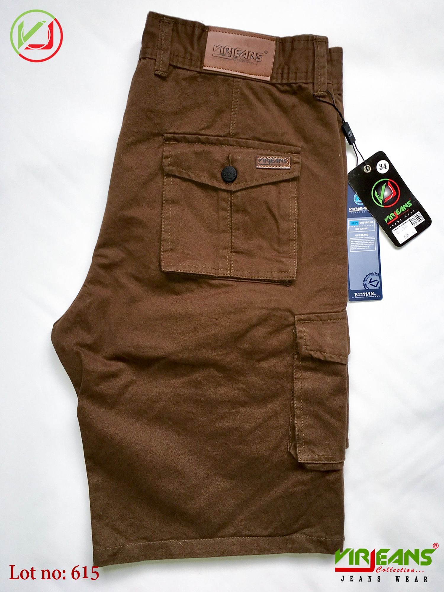 ee9fe48f Virjeans    Twill Box Half Pants. Available in different Color & Size.