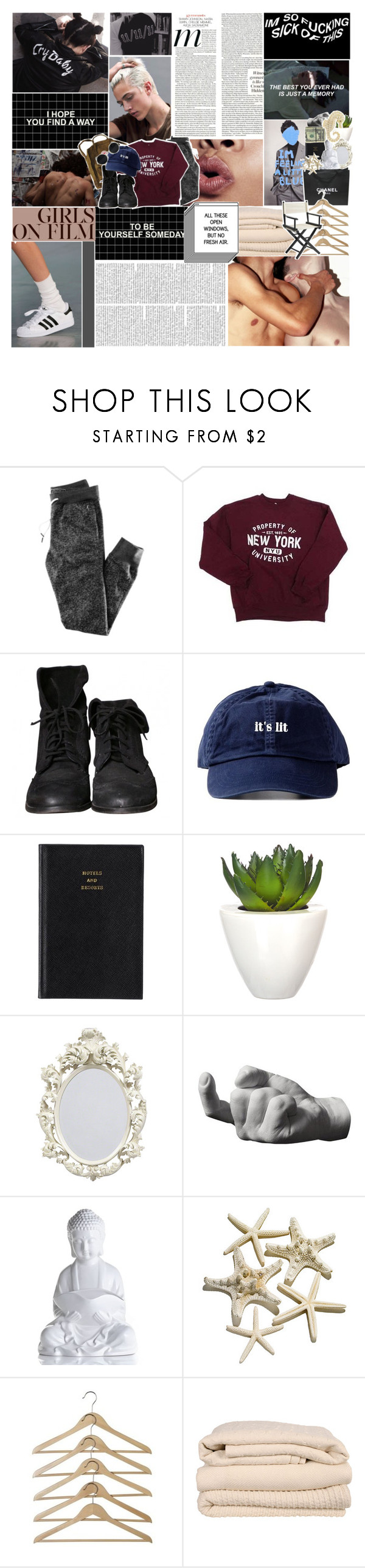 """""""i'll be singing in the shower—"""" by graham-almighty ❤ liked on Polyvore featuring H&M, Zara, Prada, Pomax, Chanel, Areaware, Brahms Mount, Pier 1 Imports, women's clothing and women's fashion"""