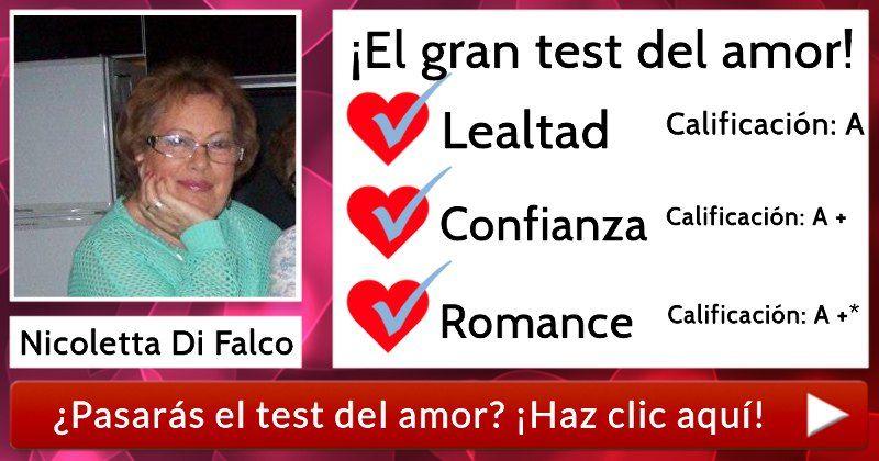 ¡El gran test de amor! ¿Lo pasarás?