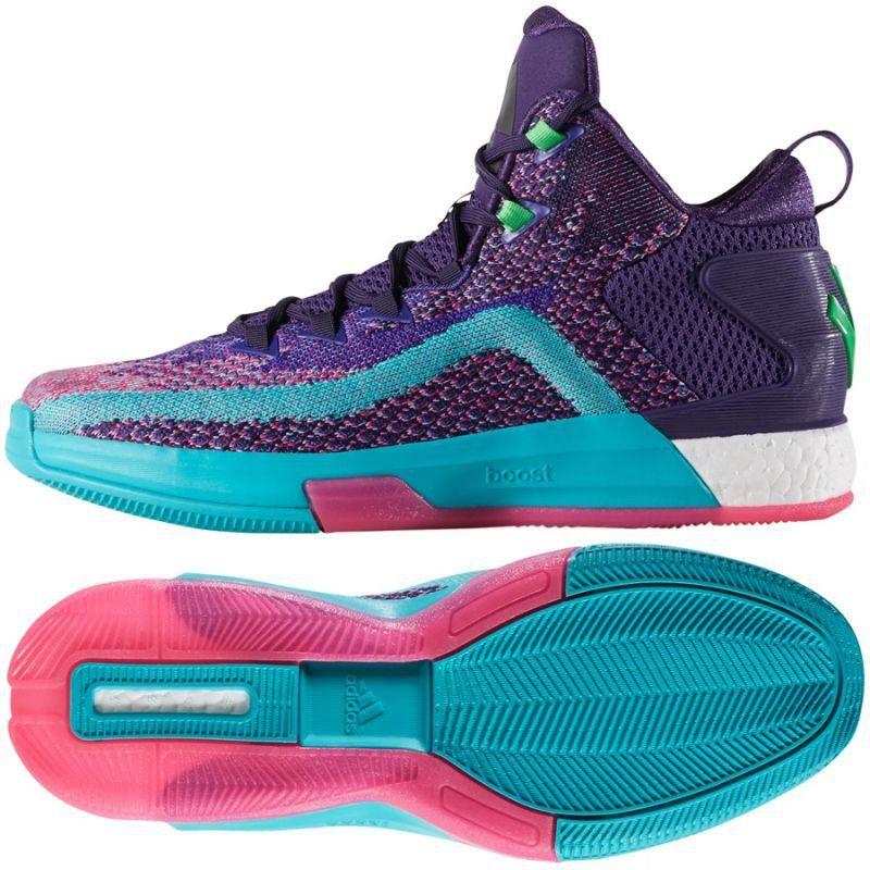 Koszykowka Sport Adidas Buty Koszykarskie Adidas John Wall 2 Boost Prime Knit M D70028 John Wall John Wall 2 Adidas