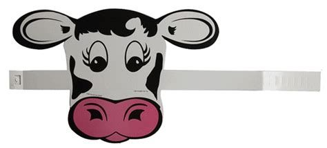 Images Printable Cow Mask Costumes Ears Appreciation Day