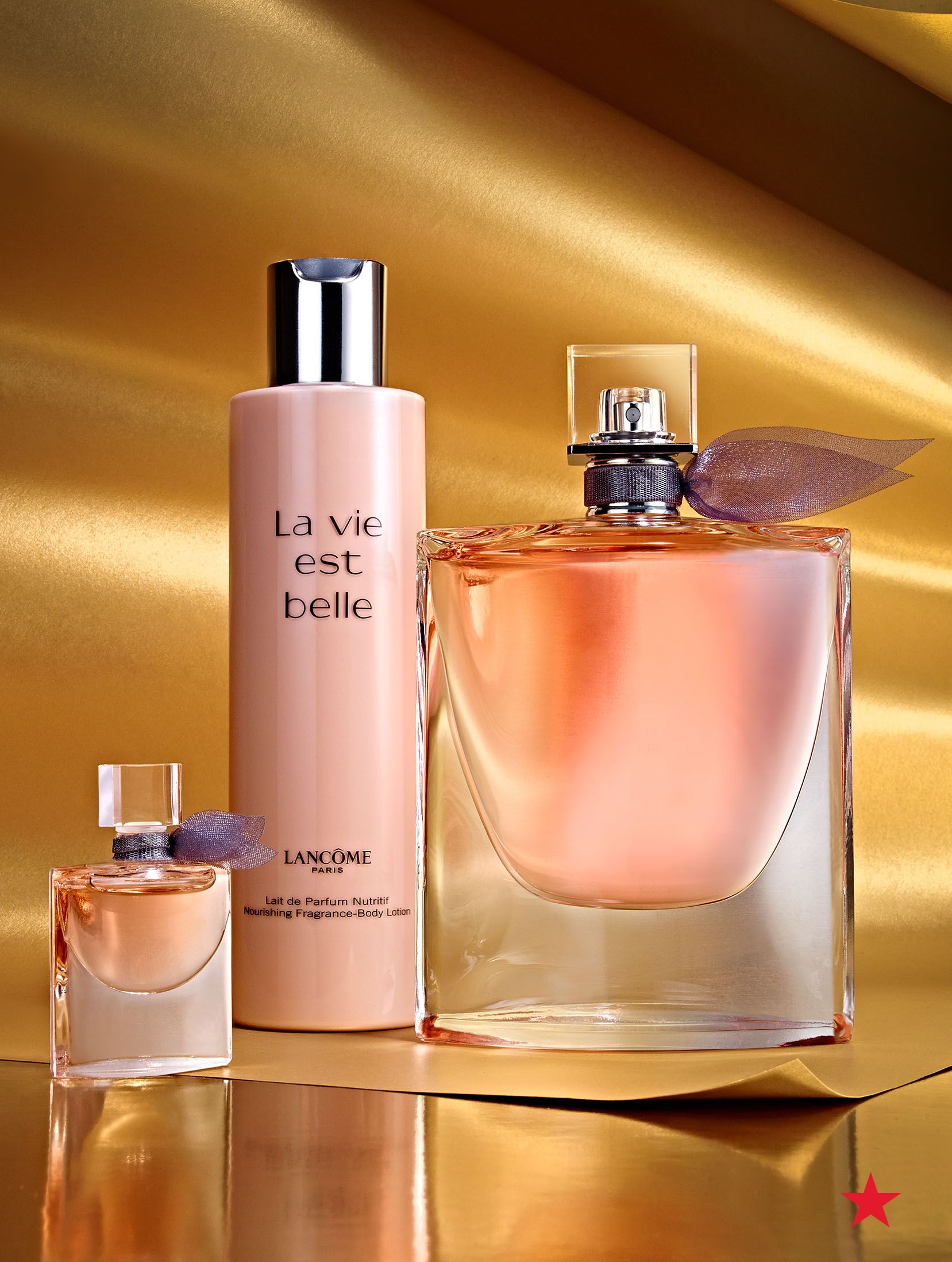 A beautiful scent for your gorgeous mom, Lancôme La vie est belle  Inspirations Set treats her to a sweet fragrance and luxurious body lotion. aab4d7e3831