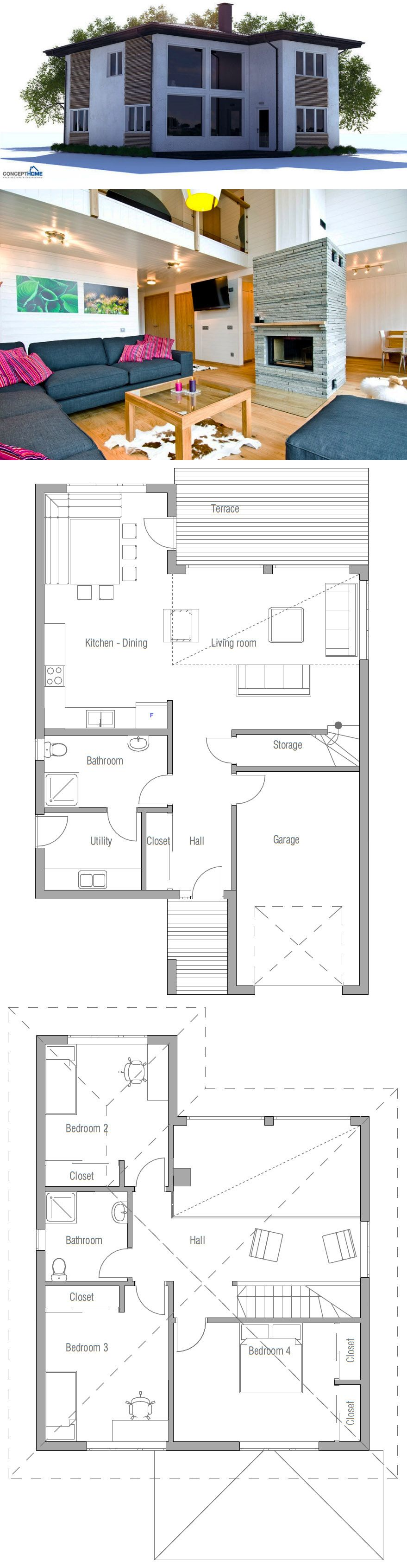Small House Plans Small Home Affordable Home Plans Homedecor Houzz Archdaily Archilovers Dwell Souther House Layouts House Plans House Plans Farmhouse