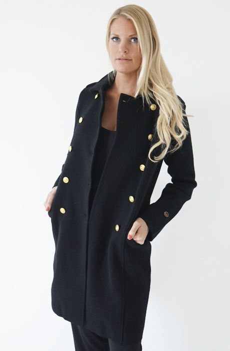 71f2d6ea Busnel - Arizona Coat - Black | jacket | Kläder